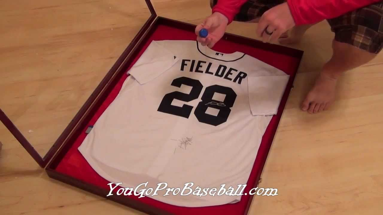 How to frame a baseball jersey for a lot less money | Man cave ...
