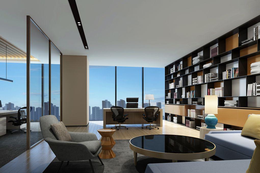 Ufficio Moderno Di Lusso : Zhe shang building dongguan guangdong terredesign zs b
