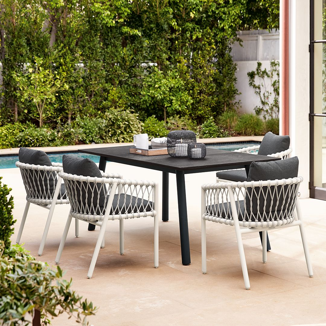 Oscar A Collection Of Seating Benches Tables By Ann Marie Vering This Exceptio Luxury Outdoor Furniture Outdoor Furniture Sets Outdoor Furniture