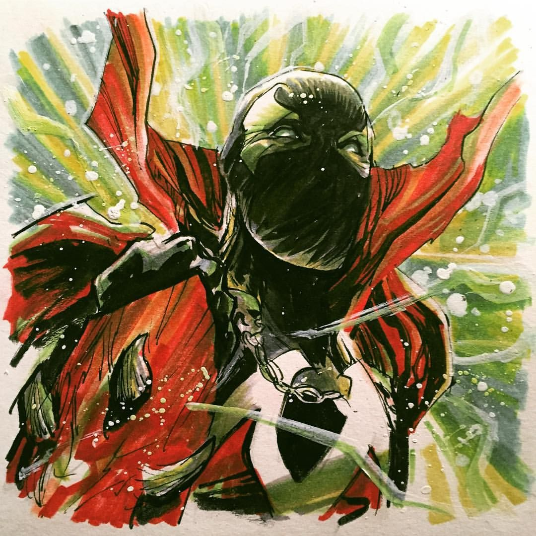 Spawn by Mike Henderson #toddmcfarlane  #imagecomics