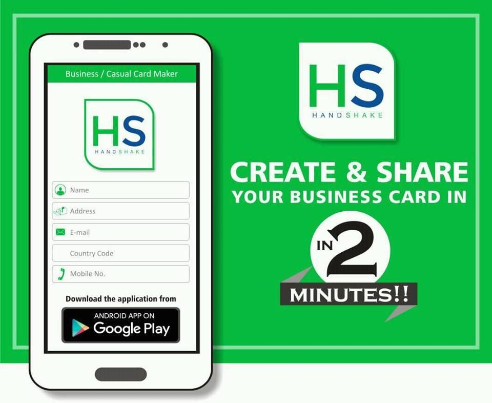 Use Handshake to Prepare and Share Digital Business Cards in just 2 ...
