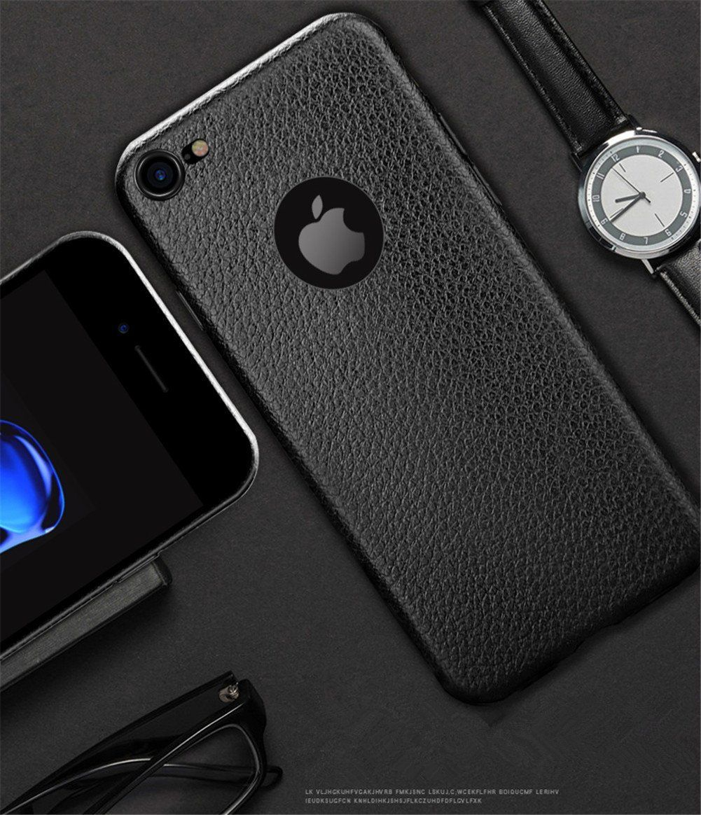 iphone 7 phone cases black leather