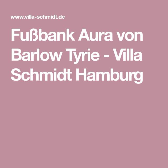 Fußbank Aura von Barlow Tyrie - Villa Schmidt Hamburg | Barlow Tyrie ...