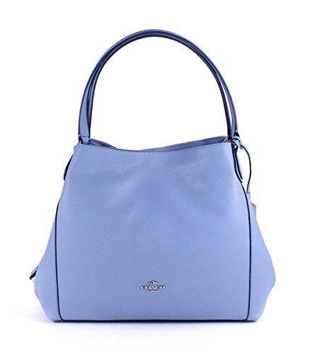 Coach Women S Refined Pebble Leather Edie 31 Shoulder Bag Sv Corn