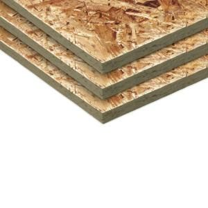 Oriented Strand Board Common 15 32 In X 4 Ft X 8 Ft Actual 0 451 In X 47 75 In X 95 75 In 512977 The Home Osb Sheathing Osb Oriented Strand Board