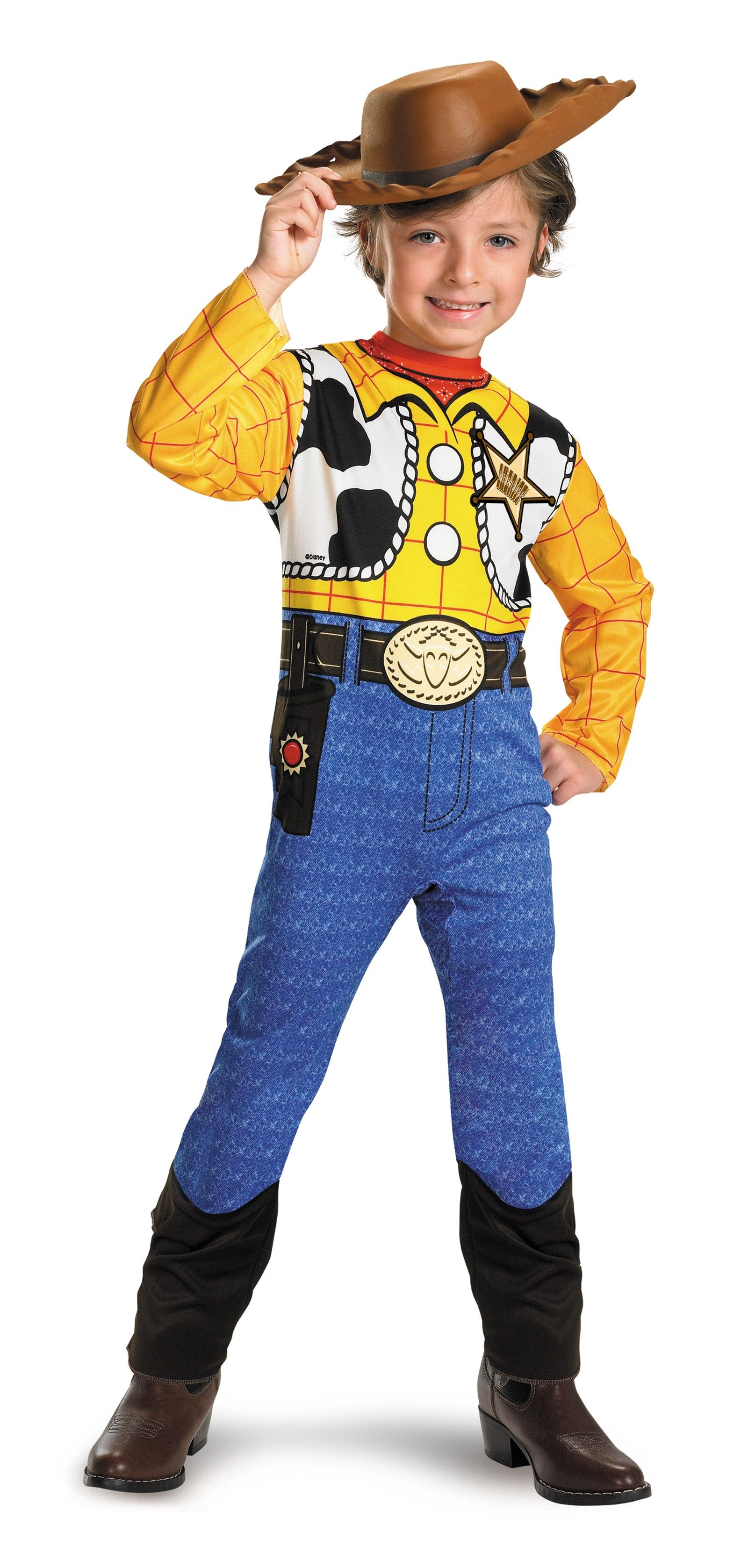 Toy Story - Woody Classic Toddler / Child Costume   Disney ...