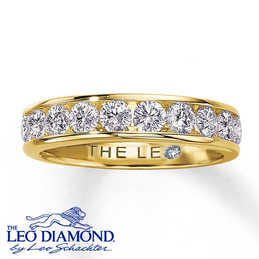 18K Yellow Gold 1 Carat tw Leo Diamond Ring Jareds 329999