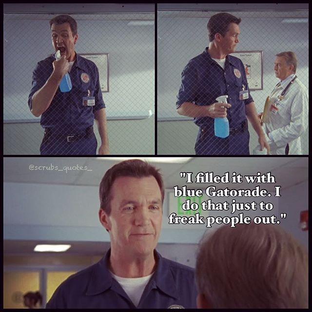 Scrubs midget janitor