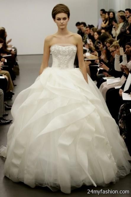 Nice ball gown wedding dresses vera wang 2018-2019 Check more at ...