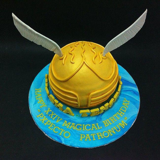 Golden Snitch Cake Pops Tastemade