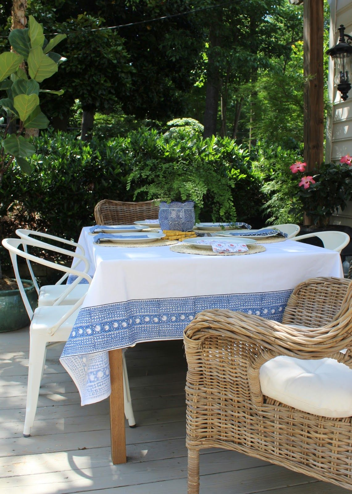 Upgrading Our Outdoor Dining Experience | Outdoor dining ...