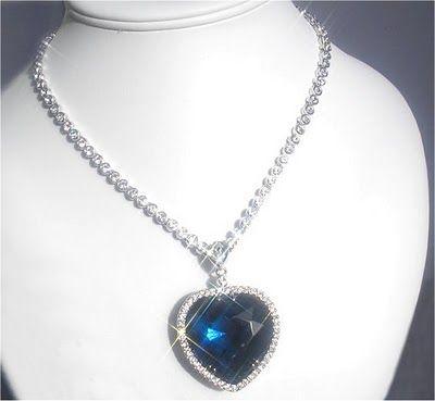 Titanic Heart of the Ocean Diamond valued at Twenty Million. 693294b4c7de