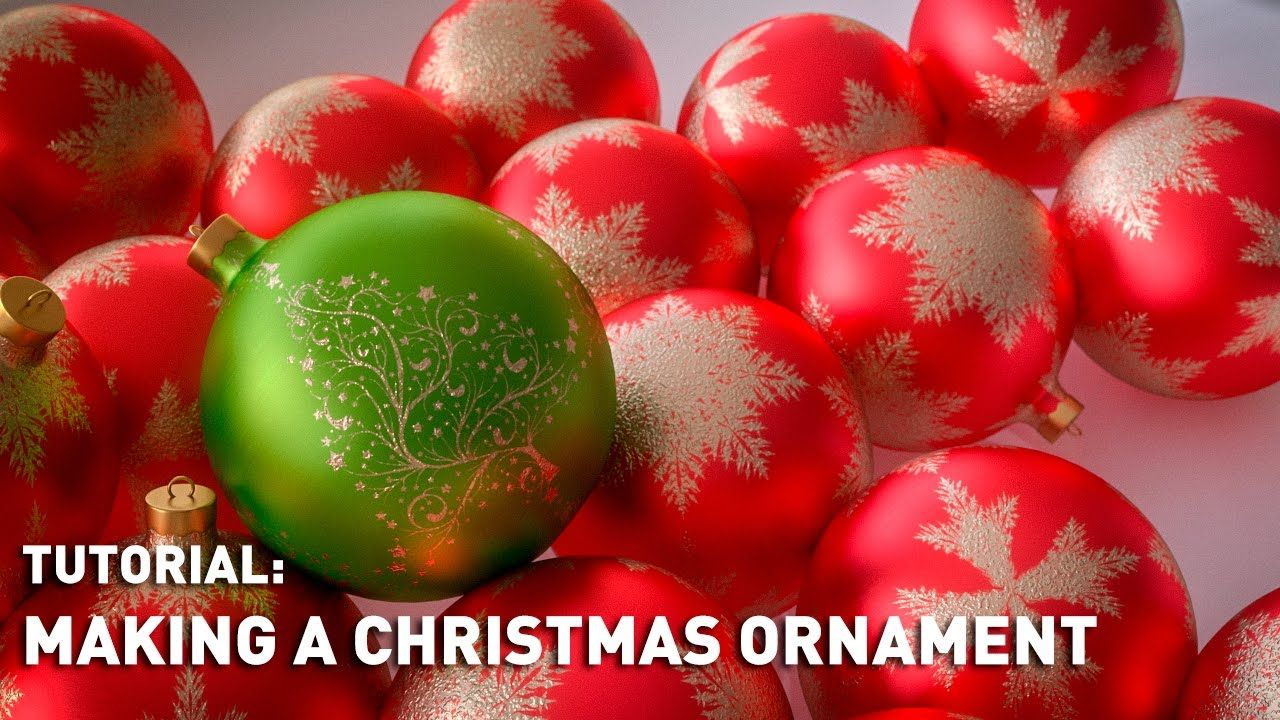 Tutorial Making A Christmas Ornament Christmas Ornaments Christmas Balls How To Make