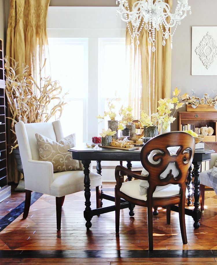 Sherwin Williams Color of the Year Room Makeover Dining