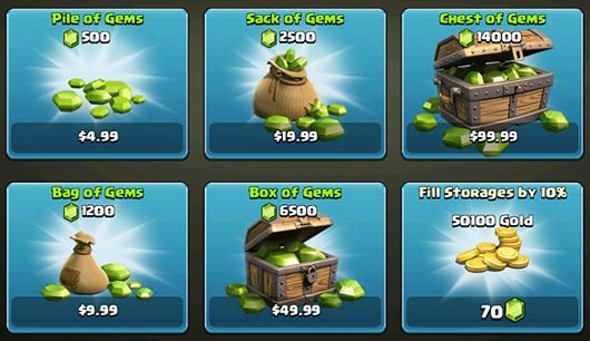 Clash of Clans Hack - How to get Free Gems ... - Games Office