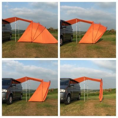 sheltapod the coolest most versatile campervan awning. Black Bedroom Furniture Sets. Home Design Ideas