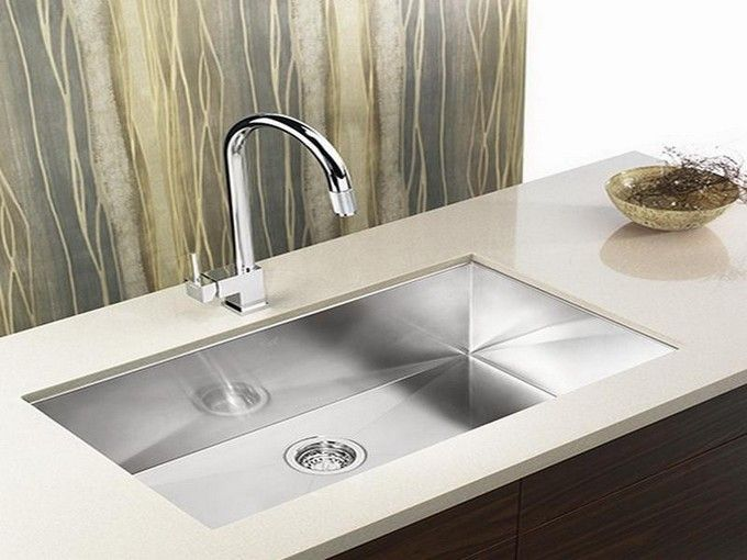 undermount ss kitchen sinks stainless steel kitchen sink undermount to white quartz 6602