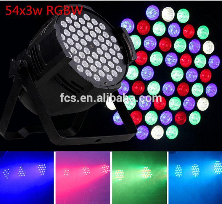 Hot Ing Disco Stage Led Lights Show Par 54x3w Light