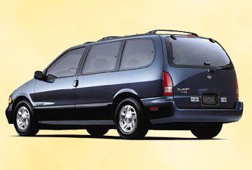 1993 Nissan Quest Second Quest Van Navy Blue With Silver Along The Bottom Nissan Nissan Quest Cool Vans