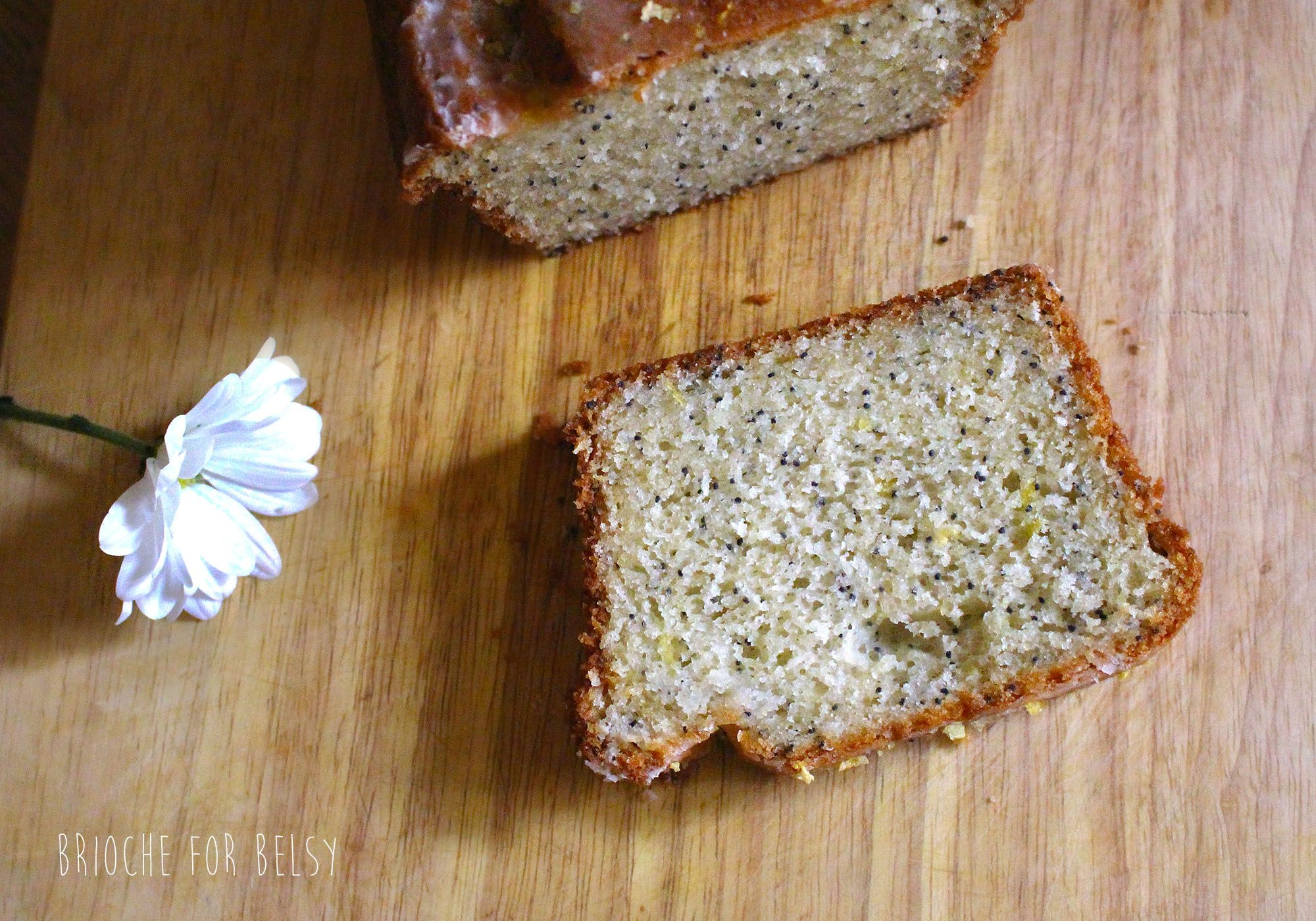 The perfect gluten-free lemon and poppy seed cake!