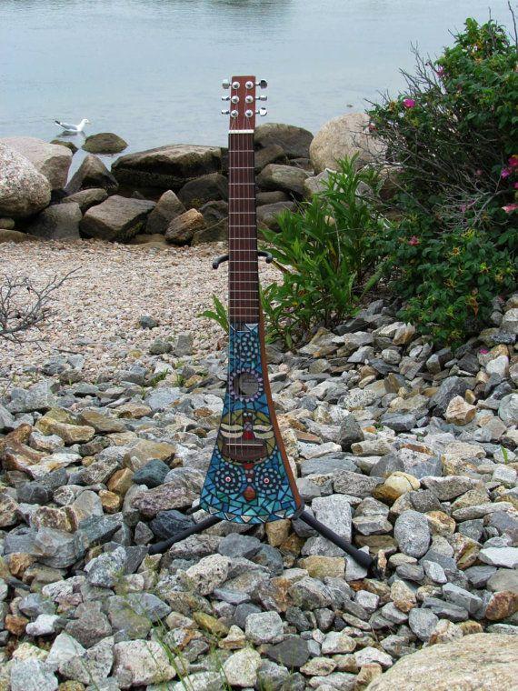 mosaic martin backpacker guitar dragonfly melody 450 mosaic guitar pinterest guitar. Black Bedroom Furniture Sets. Home Design Ideas