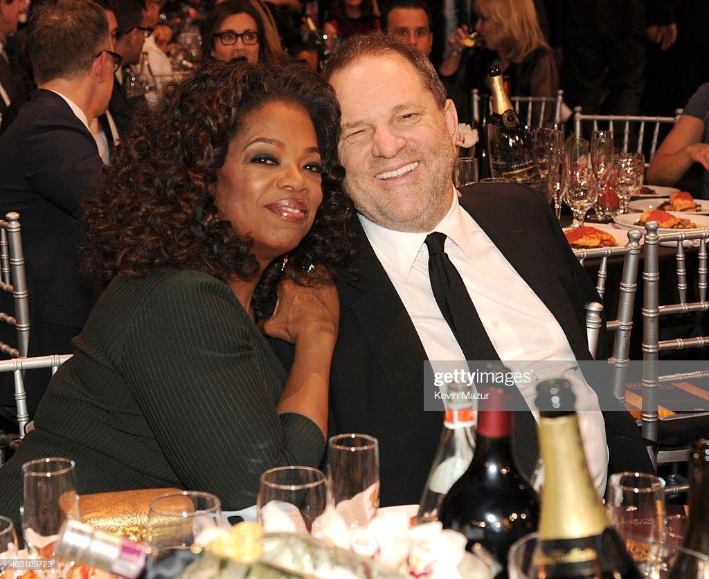 Oprah Winfrey And Harvey Weinstein Attend The19th Annual Critics