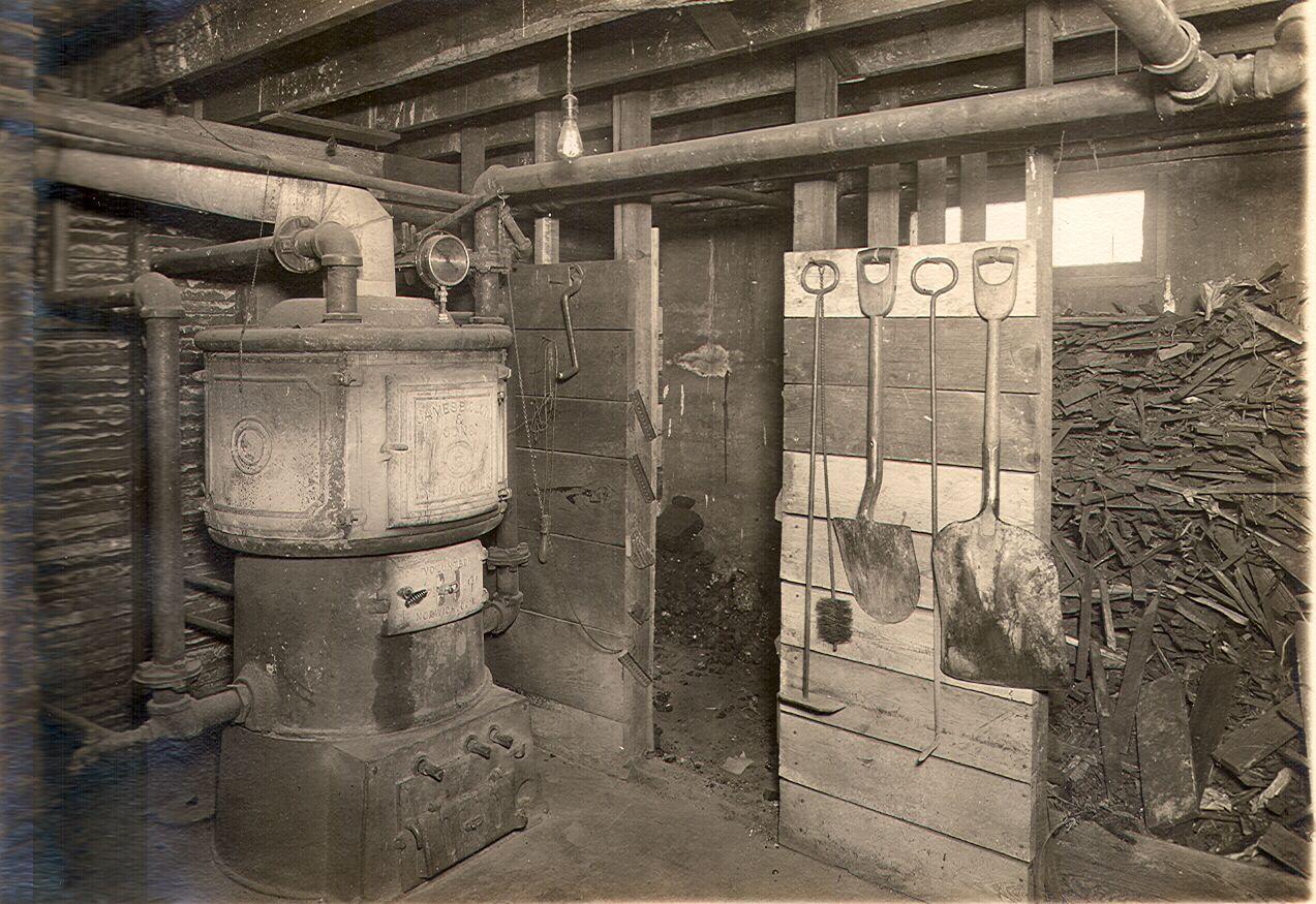1912 Furnace Room Furnace Room Antique Stove Furnace