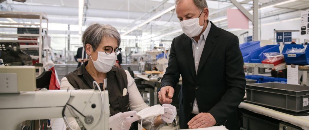 Louis Vuitton Va Distribuer Gratuitement Des Milliers De Masques