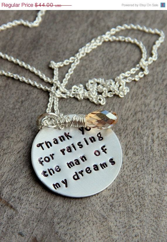 wedding mother in law gift mother in law christmas gift thank you for raising the man of my dreams mothers day mother in law christmas on etsy 3960