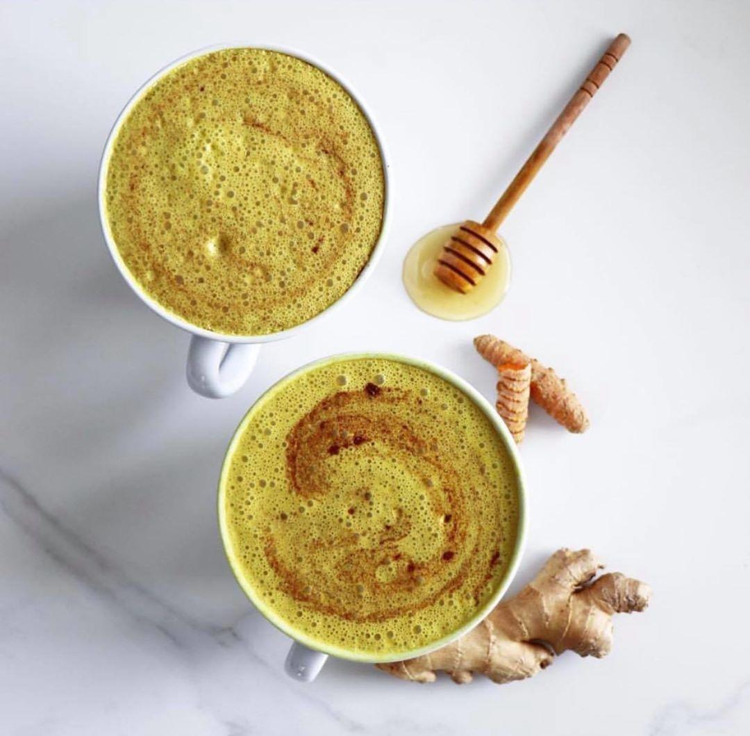 Creamy Pecan Golden Mylk Latte