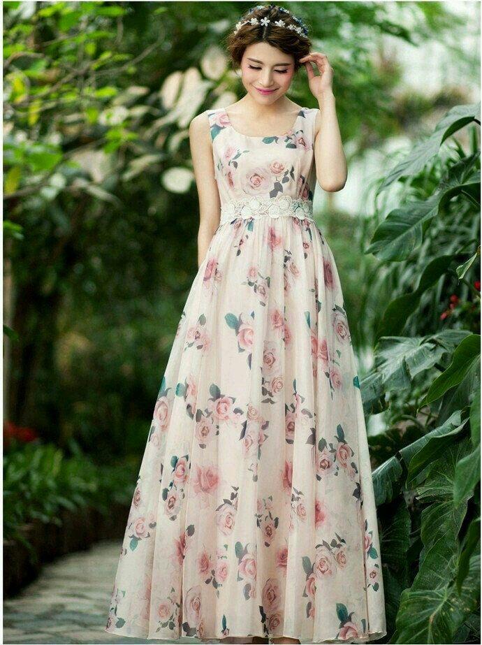 903c80065cea3 Floral dress | sasho | Dresses, Fashion dresses, Beach bridesmaid ...