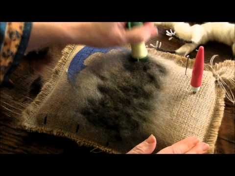 ▶ How To Needle Felt Animals: Raccoon 3 by Sarafina Fiber Art - YouTube
