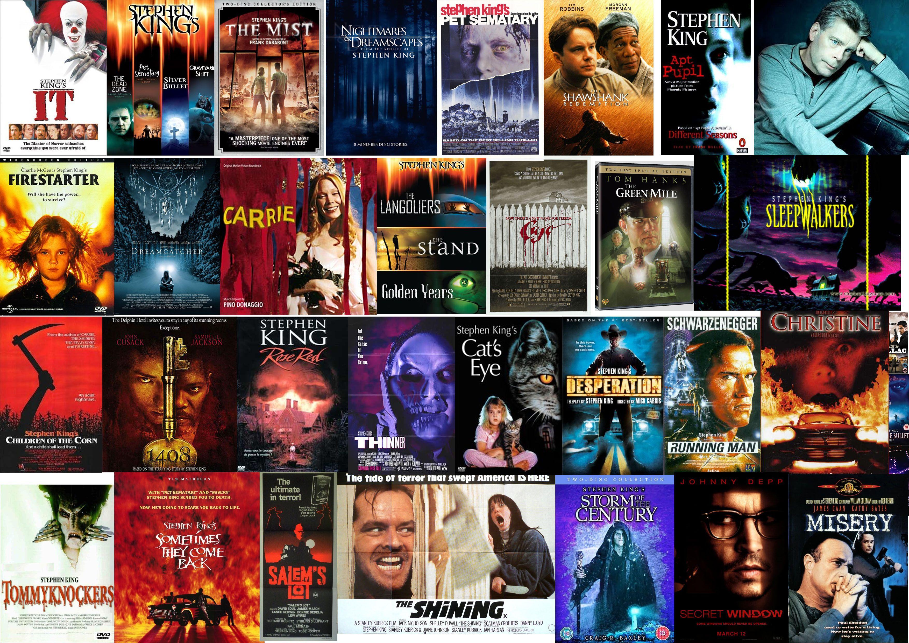 Stephen King - Films