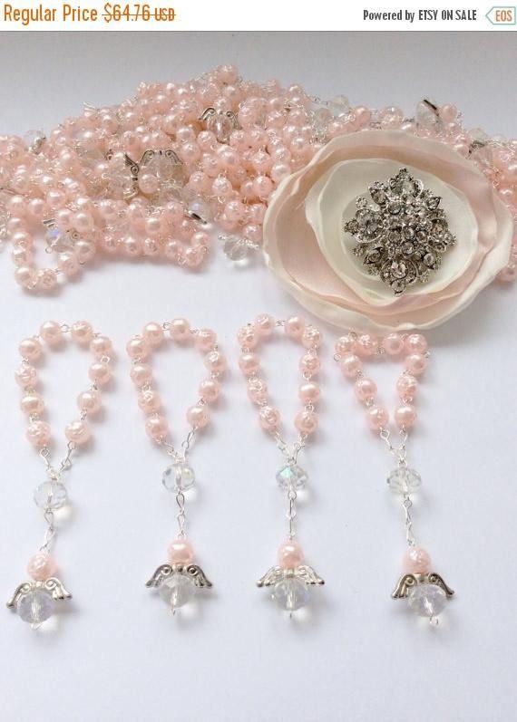 d84b18c72a2 90 pcs Angel Pearl Decade Rosaries Mini Rosaries First communion ...