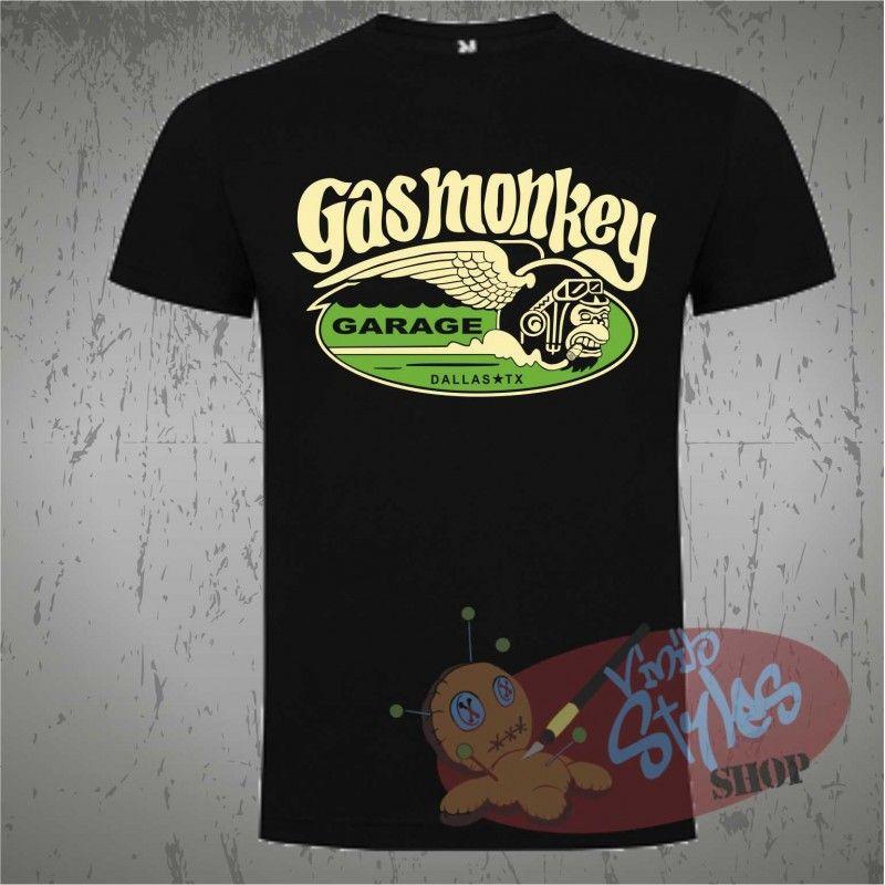 Gas Monkey Logo Dibujo T