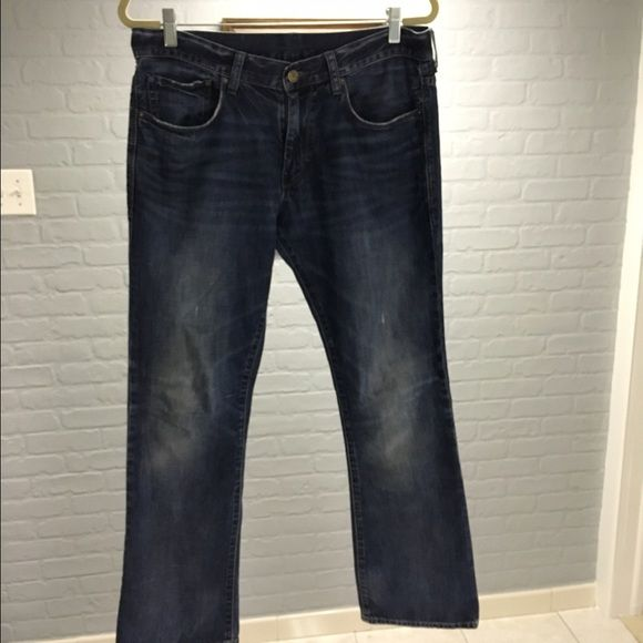 GAP Men s Slim boot jeans Very soft worn in feel! These are great as  Boyfriend 8aea210af84ea