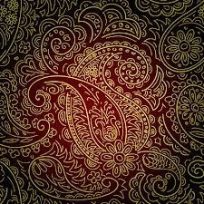 paisley material