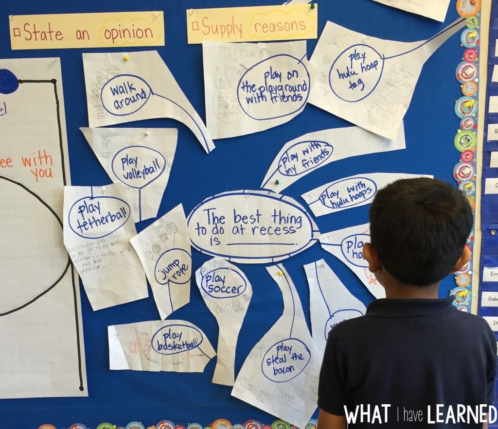 How To Teach Opinion Writing In Second Grade