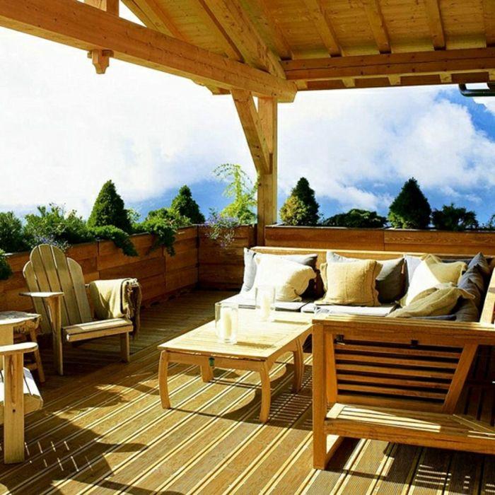 Como hacer un jardin ideas para convertir tu terraza en for Bancos para terrazas baratos