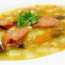 soupe repas aux pommes de terre et aux saucisses soupes pinterest soupe repas soupes et repas. Black Bedroom Furniture Sets. Home Design Ideas
