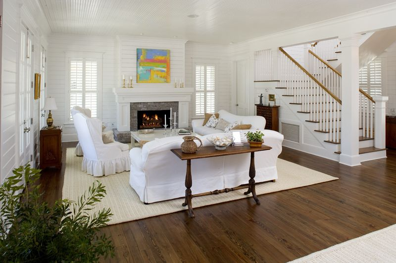 Shiplap walls and bead board ceiling house ideas for Images of rooms with shiplap