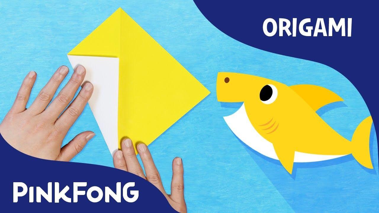 Baby shark pinterest baby shark animal song with origami pinkfong origami pinkfong songs for children stopboris Choice Image
