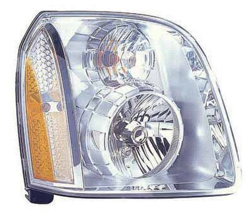 2014 Gmc Yukon Xl Denali Right Passenger Side Head Light Assembly For Denali Models [Platinum Bezel] Gm2503318C