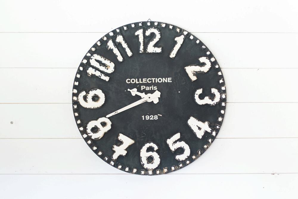 Black Wall Clock The Magnolia Market 125 Also