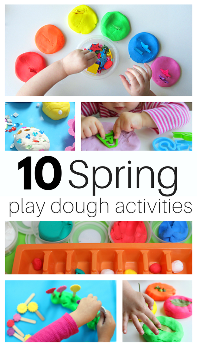The benefits of playing with play dough - The Imagination Tree