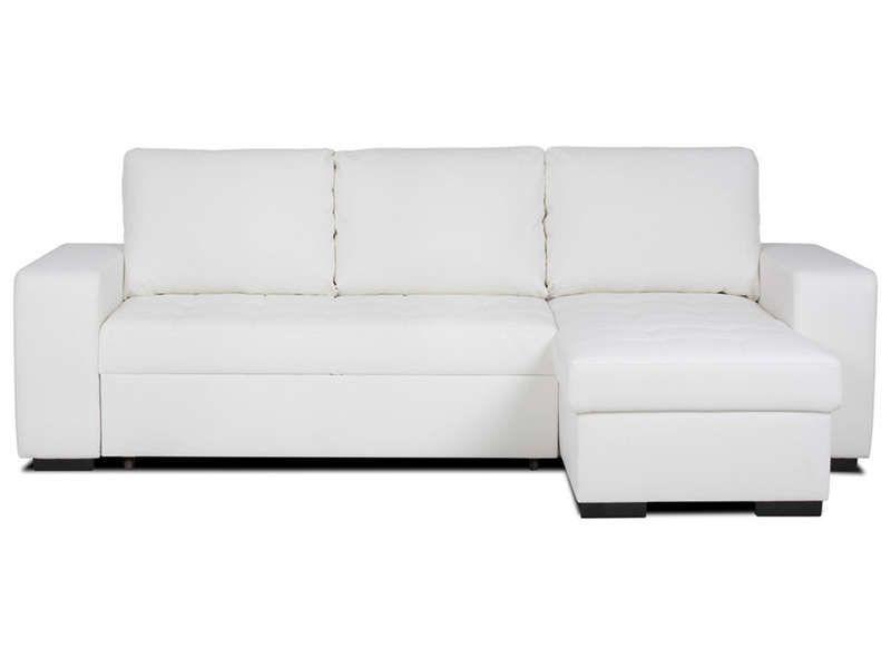 Canapé Dangle Réversible Et Convertible Places Salons - Canape angle blanc