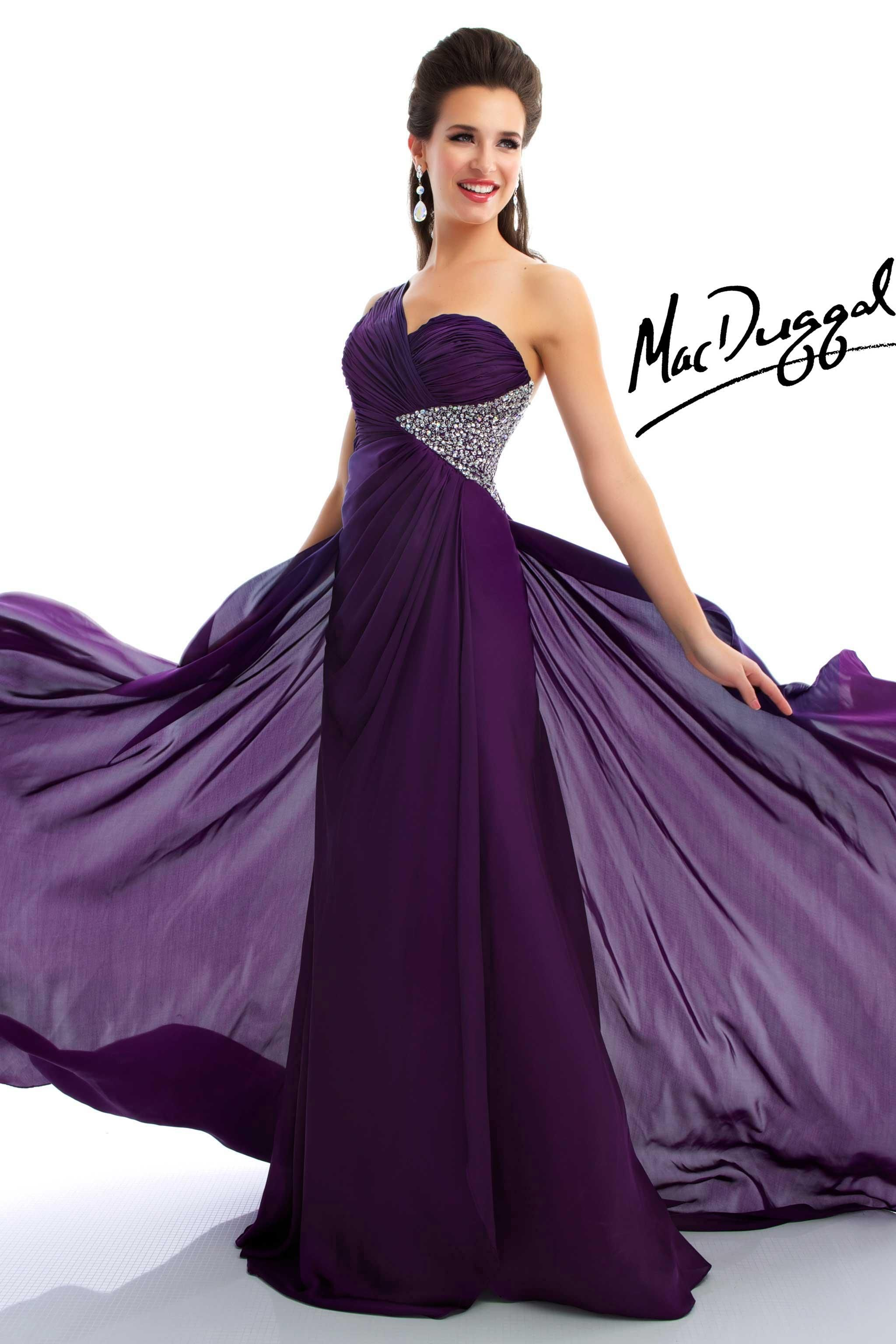 Dark Purple Dresses For Prom Images & Pictures - Becuo | Hochzeit ...