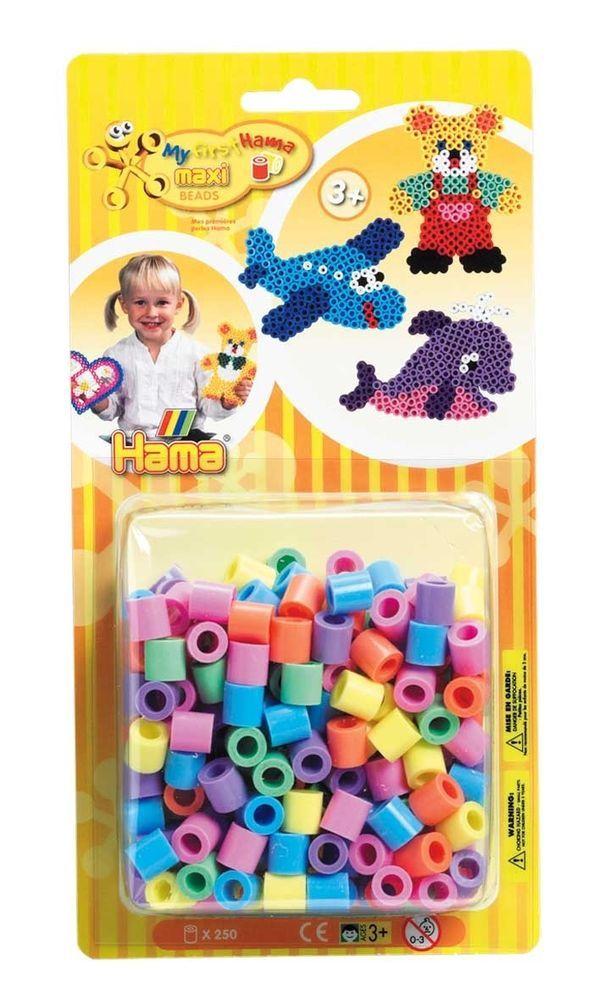 Hama Bugelperlen Maxi Stiftplatte Krabbeltiere In Box 8744
