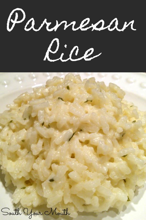 Creamy Parmesan Rice