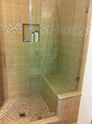 Showers With Seats
